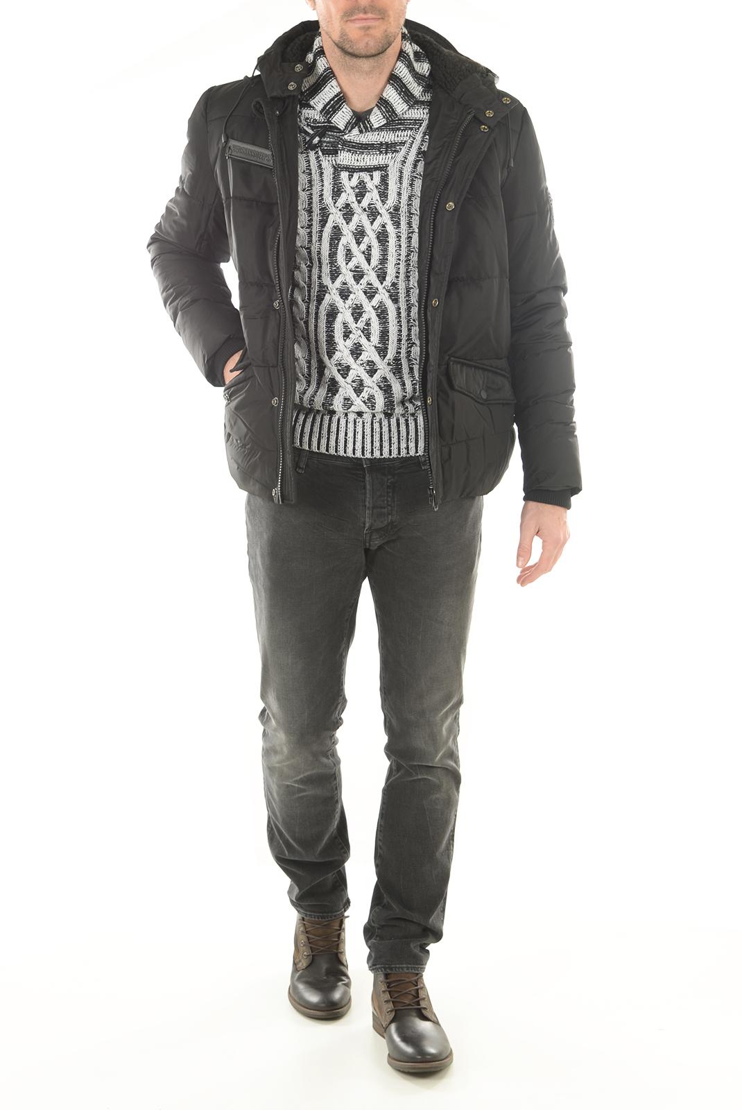 Pulls  Biaggio jeans PERILA WHITE BLACK