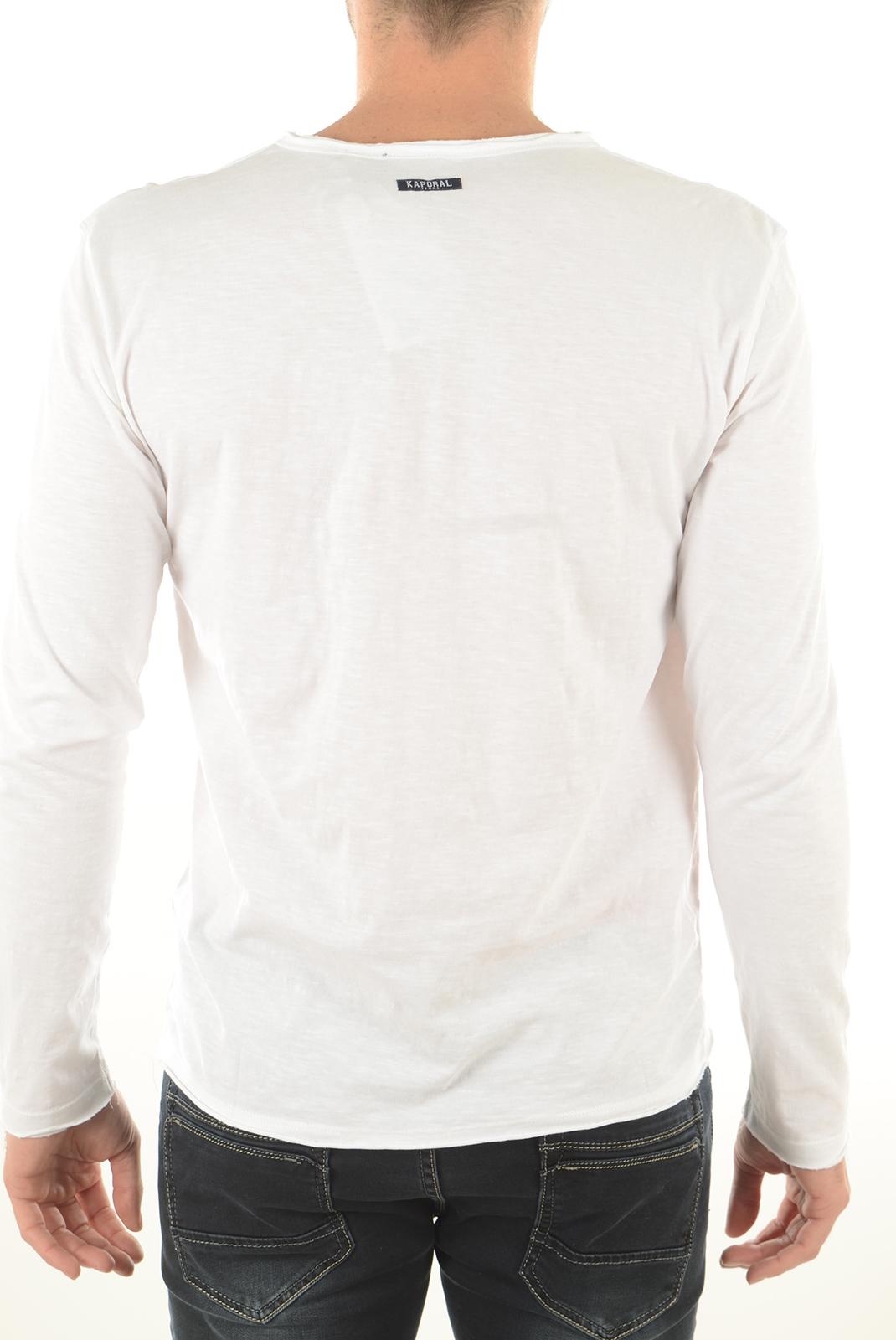 Tee-shirts  Kaporal TING WHITE