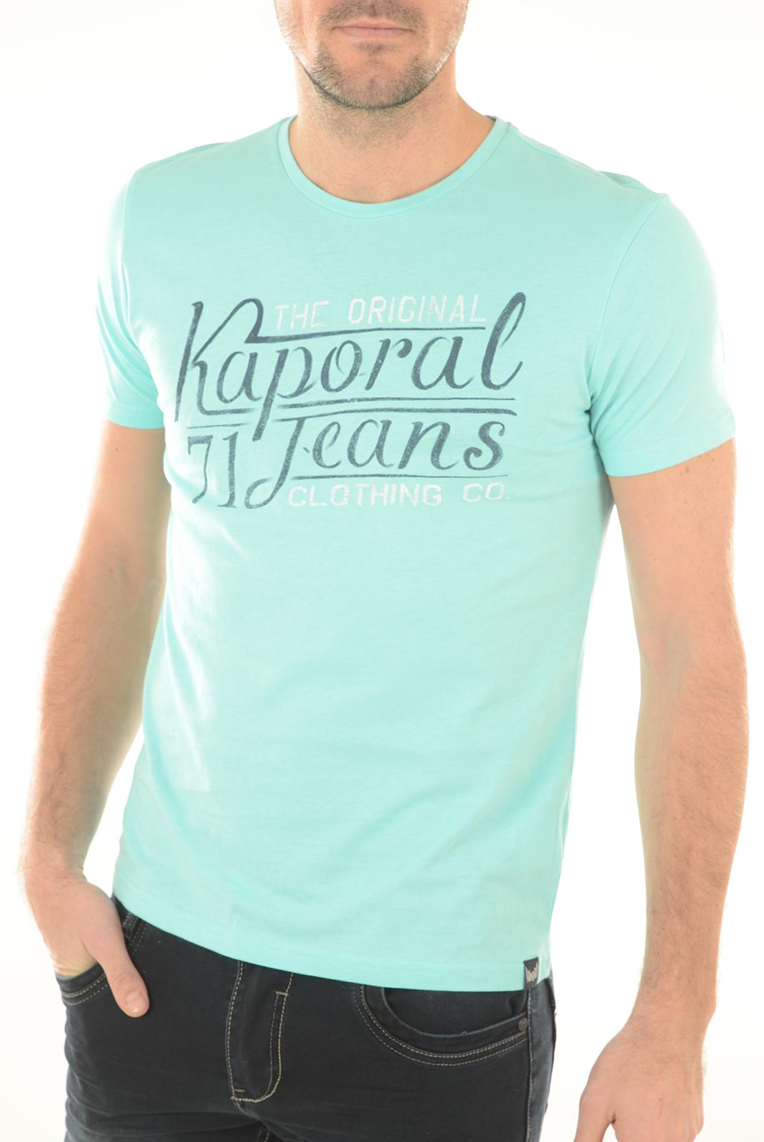 Tee-shirts  Kaporal TEROV AQUA SKY