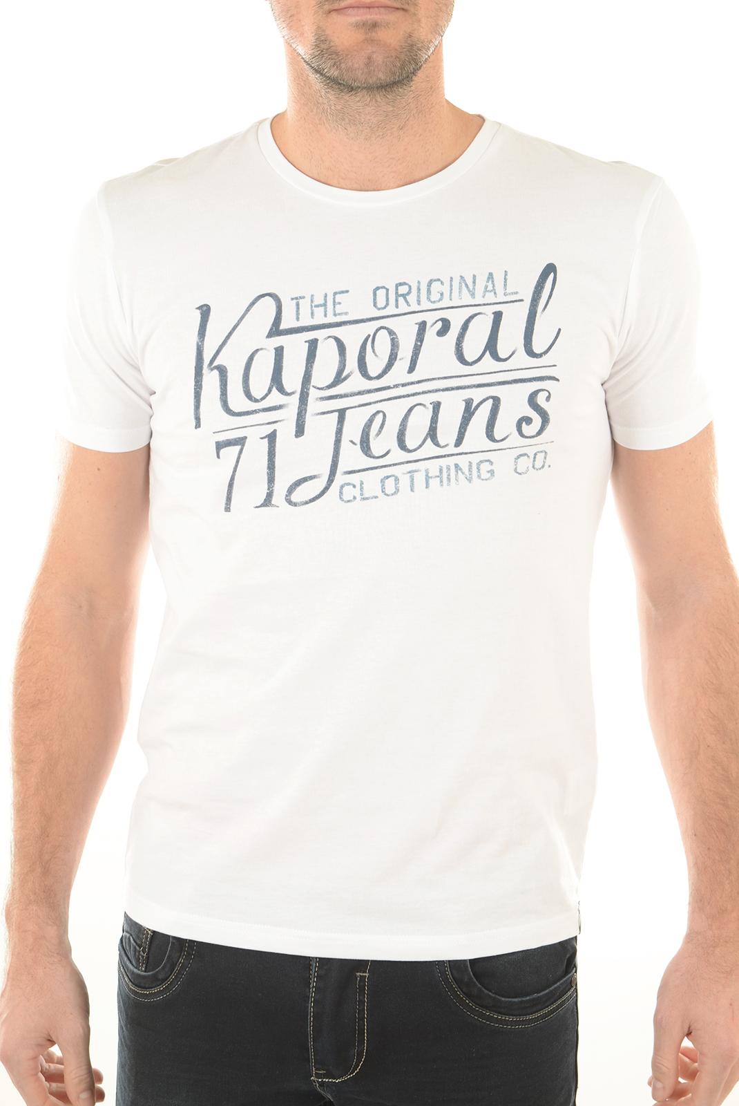 Tee-shirts  Kaporal TEROV WHITE