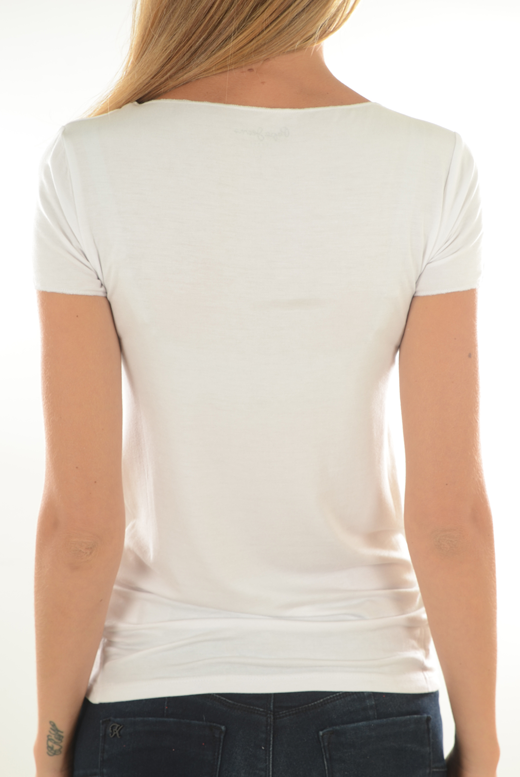 Tops & Tee shirts  Pepe jeans PL502568 KATE 803 OFF WHITE