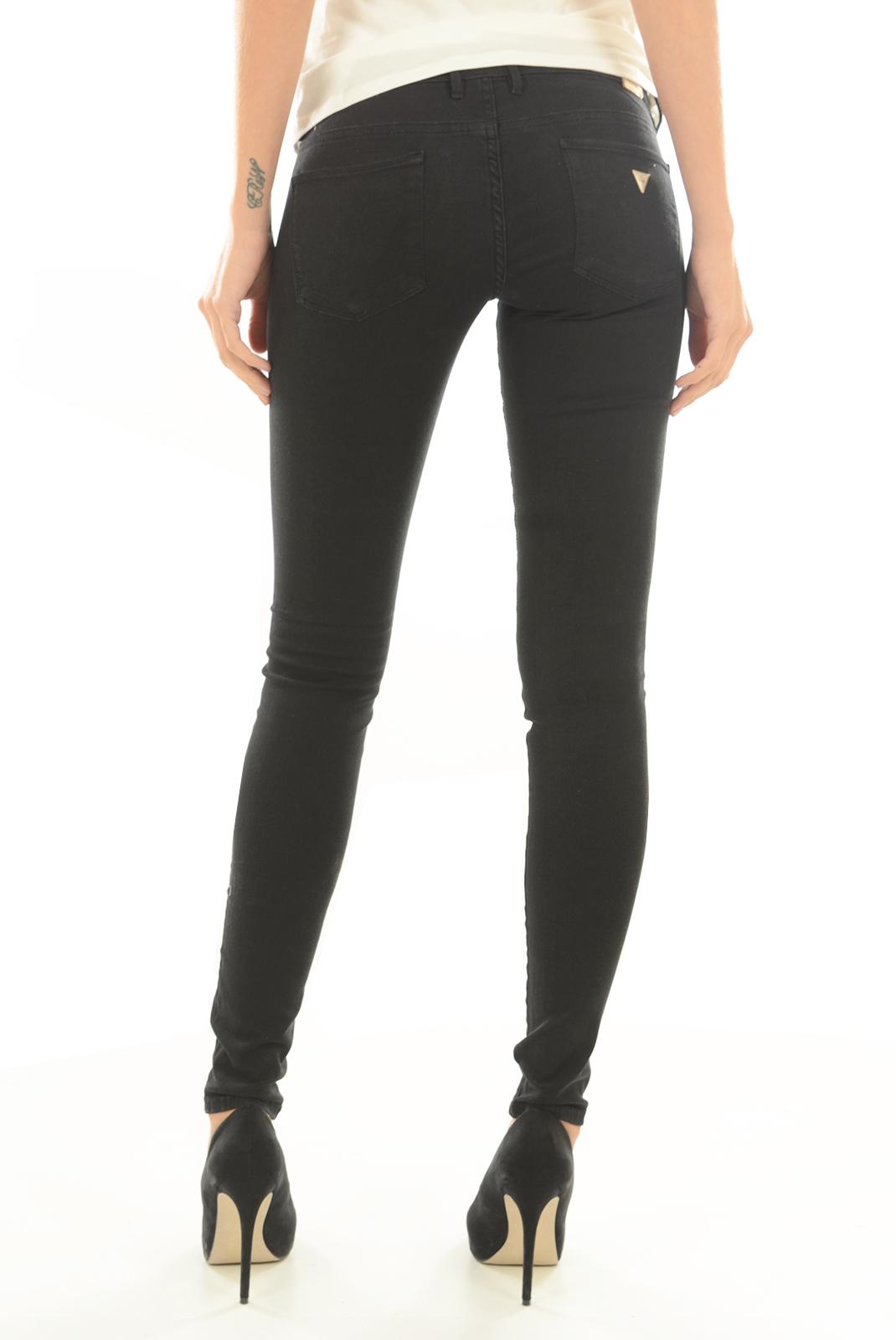 Jeans   Guess jeans W64A27 W7YE1 A996 JET BLACK