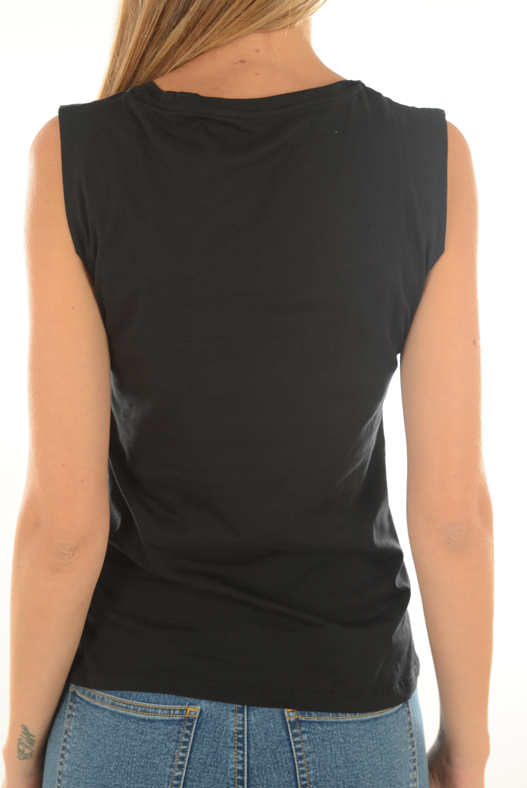 Tops & Tee shirts  Guess jeans W72I59 JA900 A996 JET BLACK