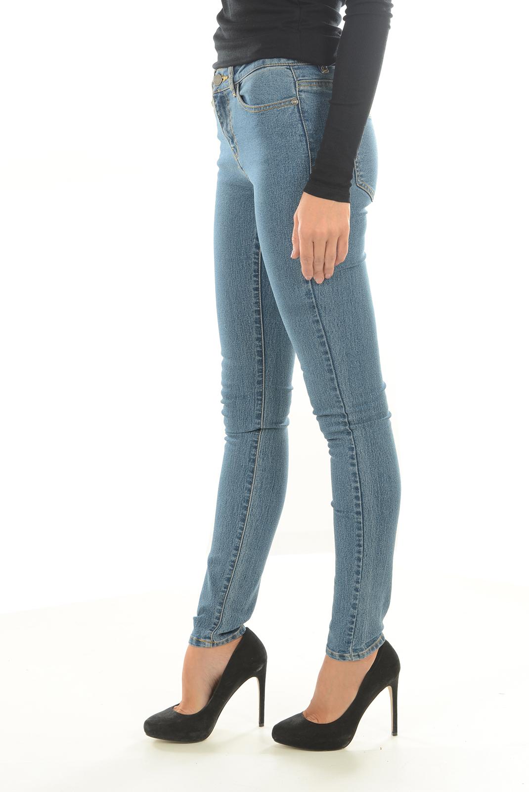 Jeans   Noisy May LUCY NW SLIM JEANS GU814 NOOS MEDIUM BLUE DENIM