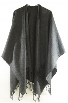 MARQUES ONLY: JAYA WEAVED SOLID PONCHO ACC NOOS