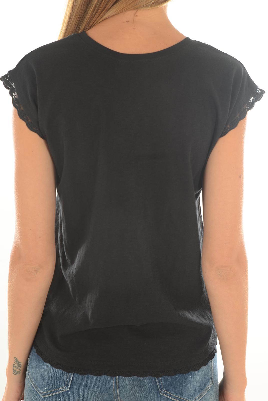 Tee shirt  Kaporal FEAR BLACK