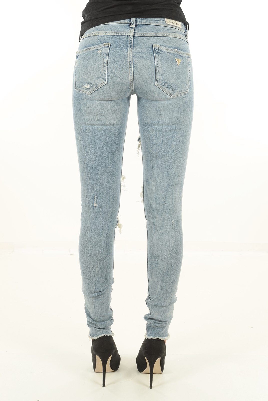 Jeans   Guess jeans W64A31D2CK0 BLEU