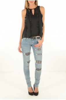 GUESS JEANS: W64H44WVP0