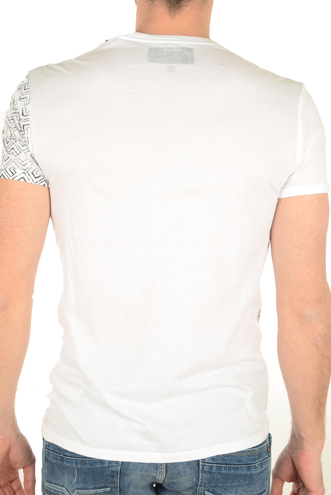 Tee-shirts  Guess jeans M72I53K5J70 A009 BLANC