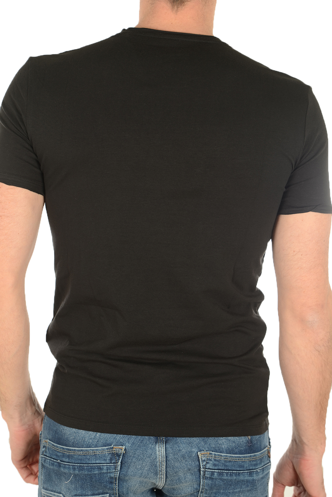 Tee-shirts  Guess jeans M72I31J1300 A996 NOIR