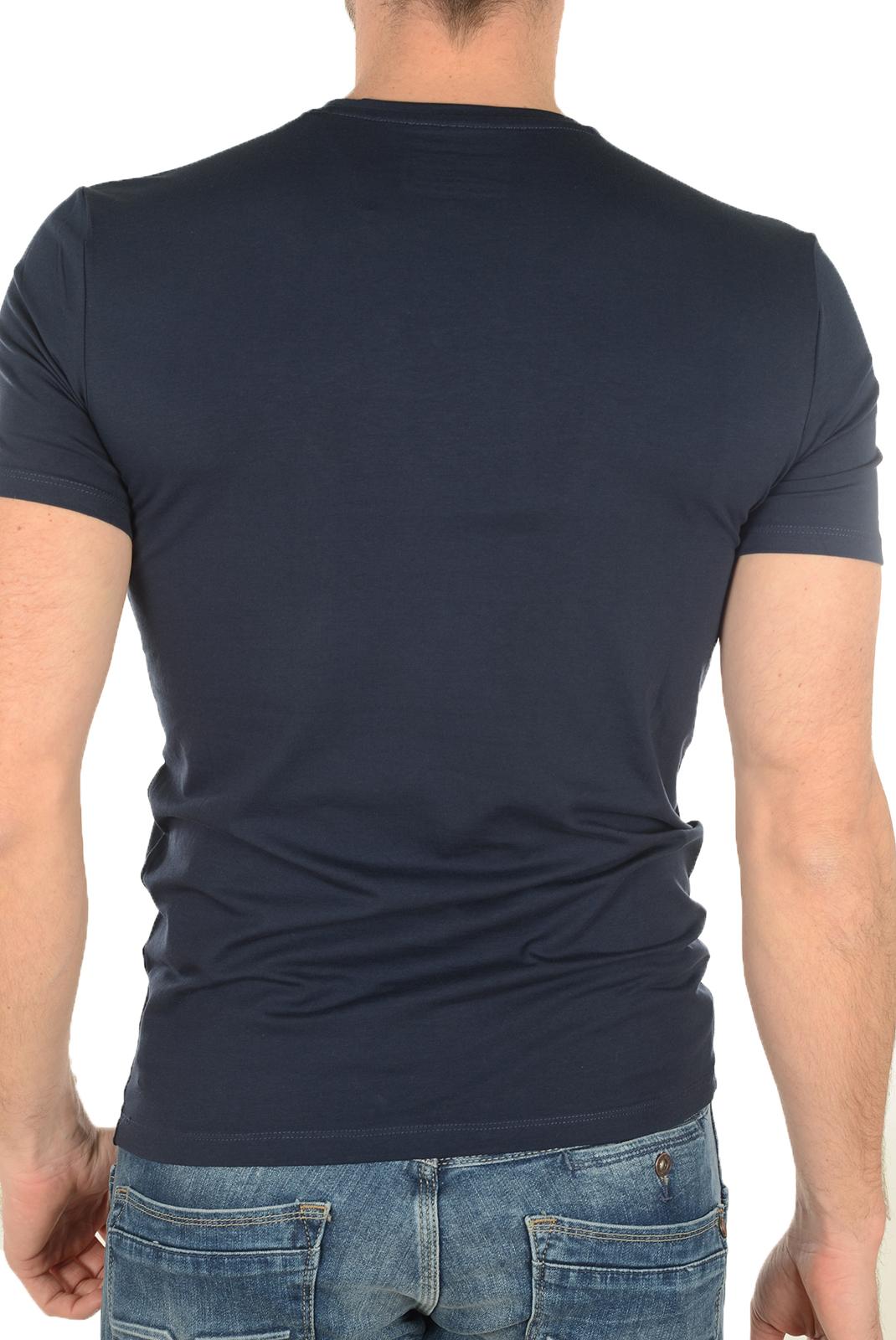 Tee-shirts  Guess jeans M72I54J1300 G720 BLEU