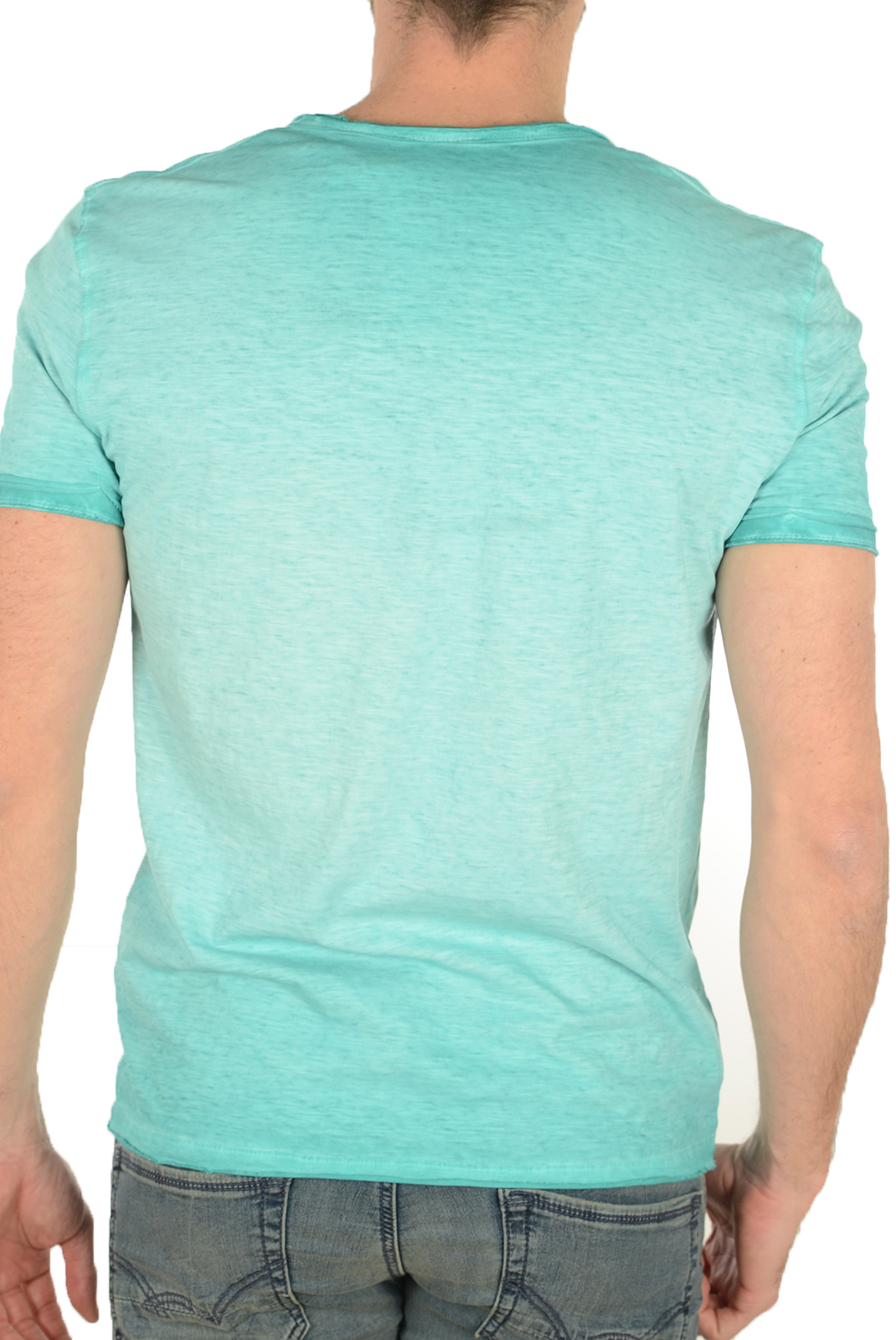 Tee-shirts  Kaporal TOKOA AQUA SKY