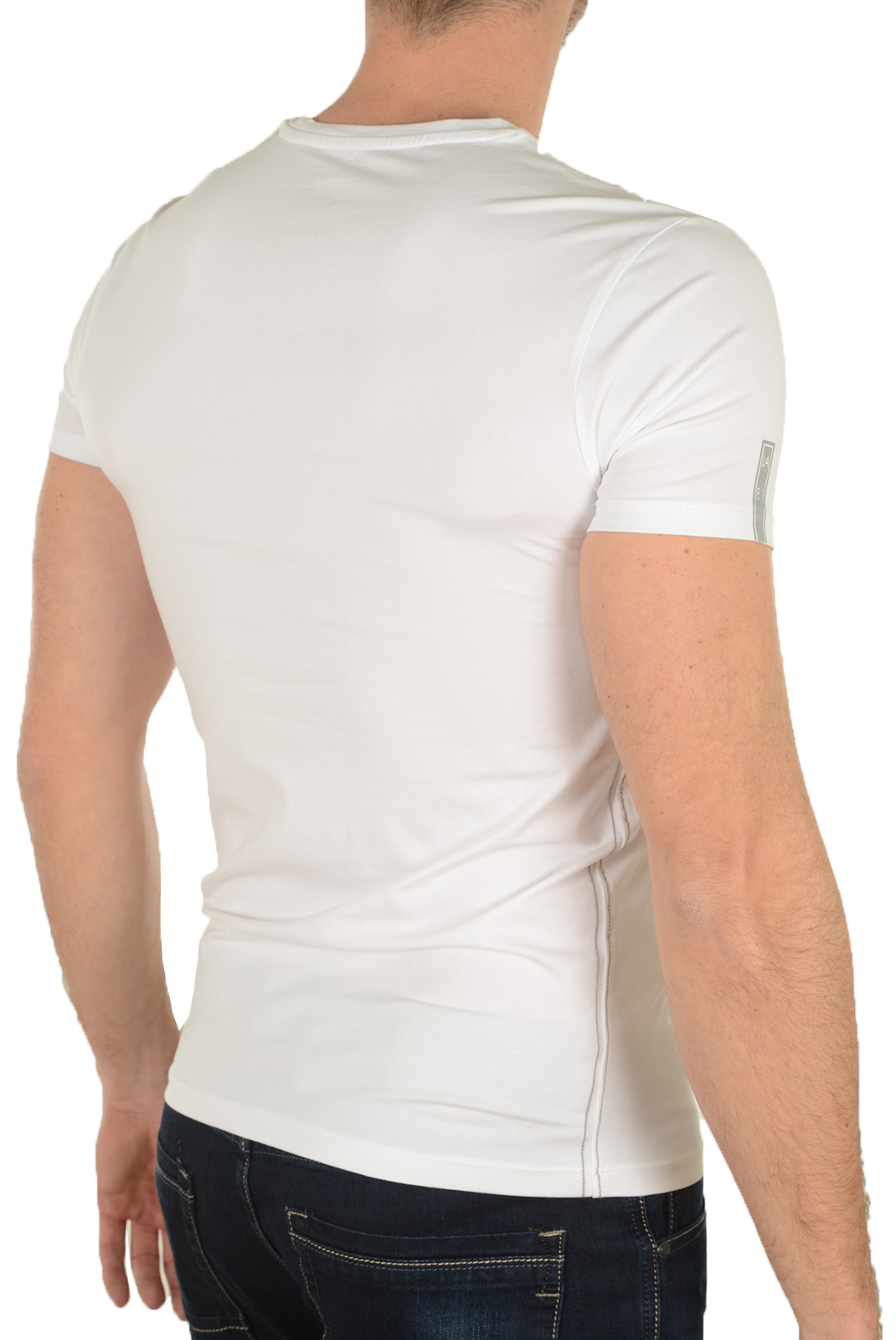 Tee-shirts manches courtes  Guess jeans M64I25J1300 A009 BLANC