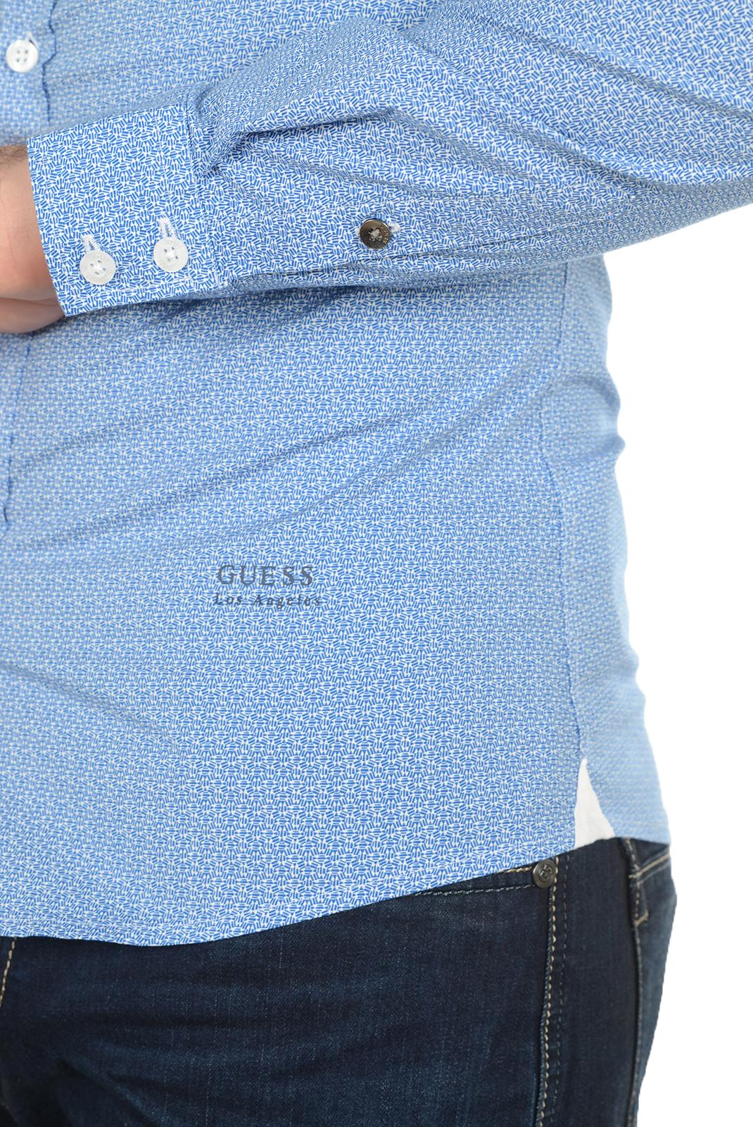 Chemises   Guess jeans M64H15 W7VX0 PF85 BLEU