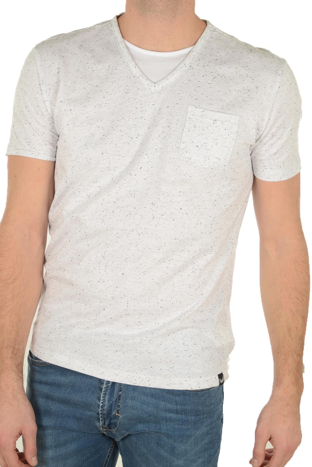 Tee-shirts  Kaporal CIAO WHITE