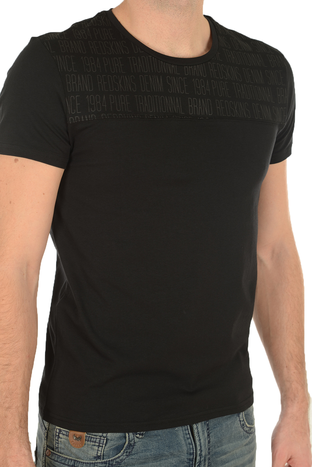 Tee-shirts manches courtes  Redskins BRADY CALDER BLACK