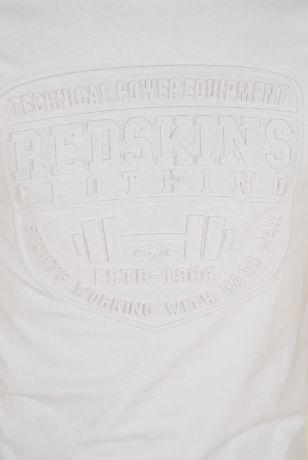 Tee-shirts  Redskins HERACLES CALDER H16 WHITE