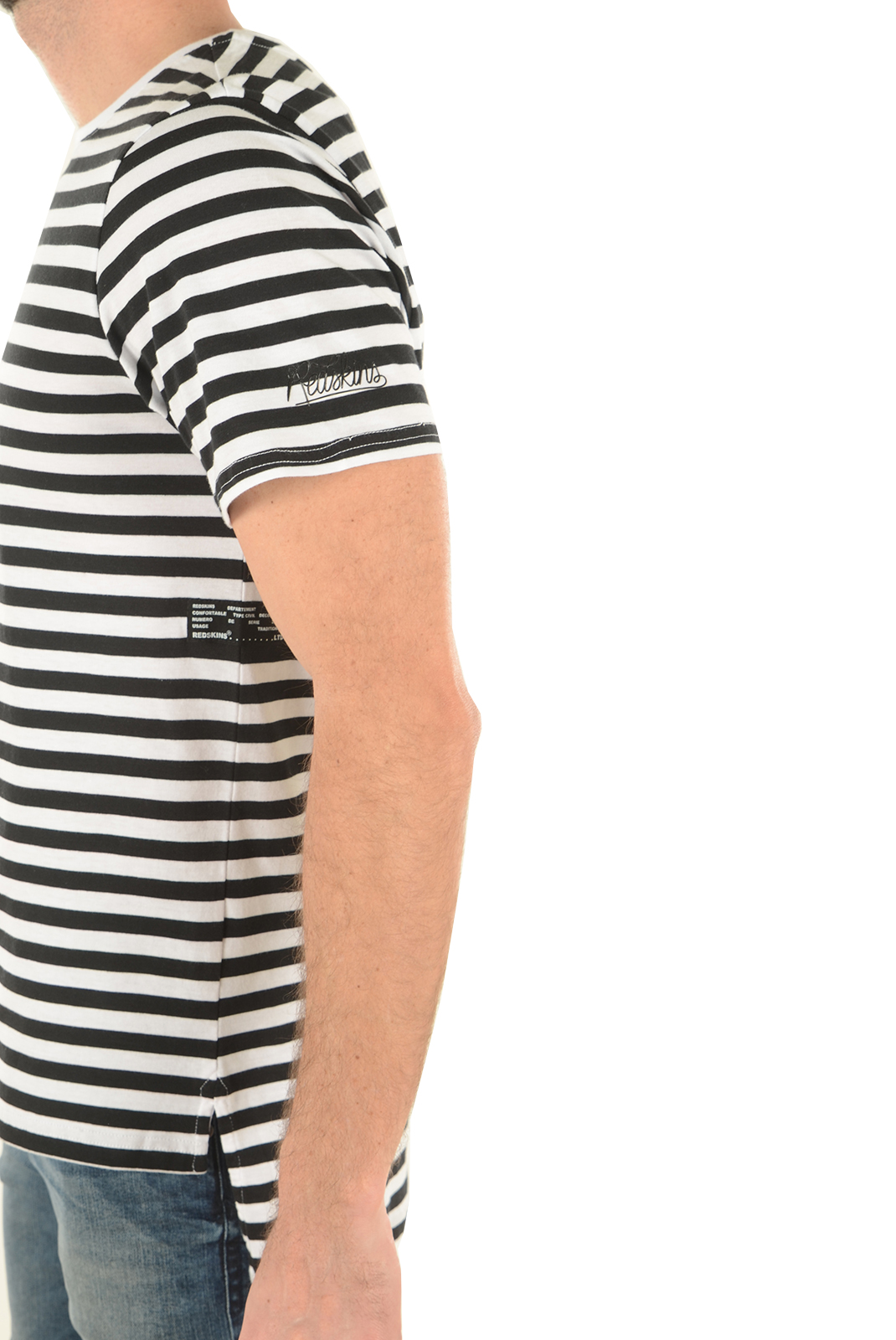 Tee-shirts  Redskins HADES CERES BLACK WHITE