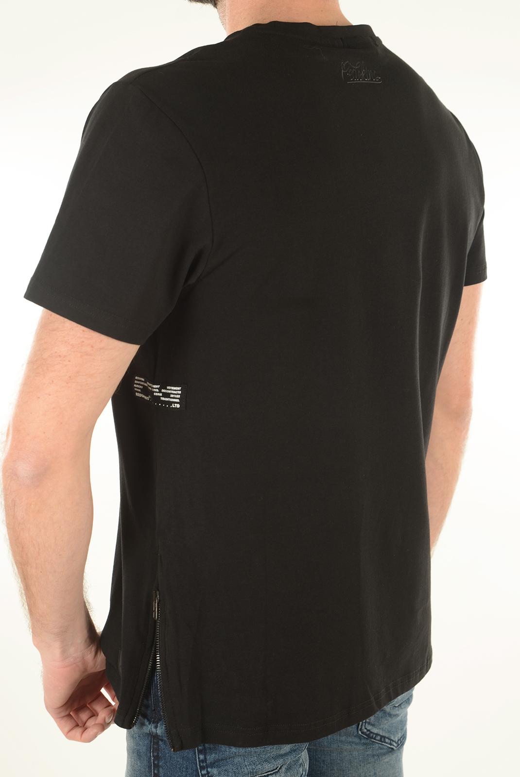 Tee-shirts  Redskins HERCULES CERES BLACK