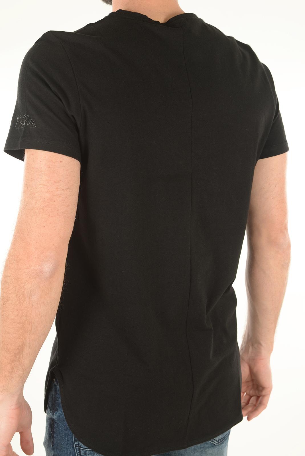 Tee-shirts  Redskins GAUVIN CERES NOIR