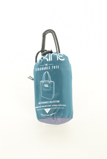 FEMME DAKINE: WOMENS STASHABLE TOTE TEAL SHADOW
