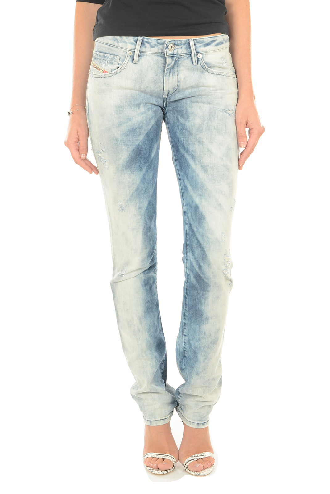 Jeans droit  Diesel MYBOY 827B BLEU