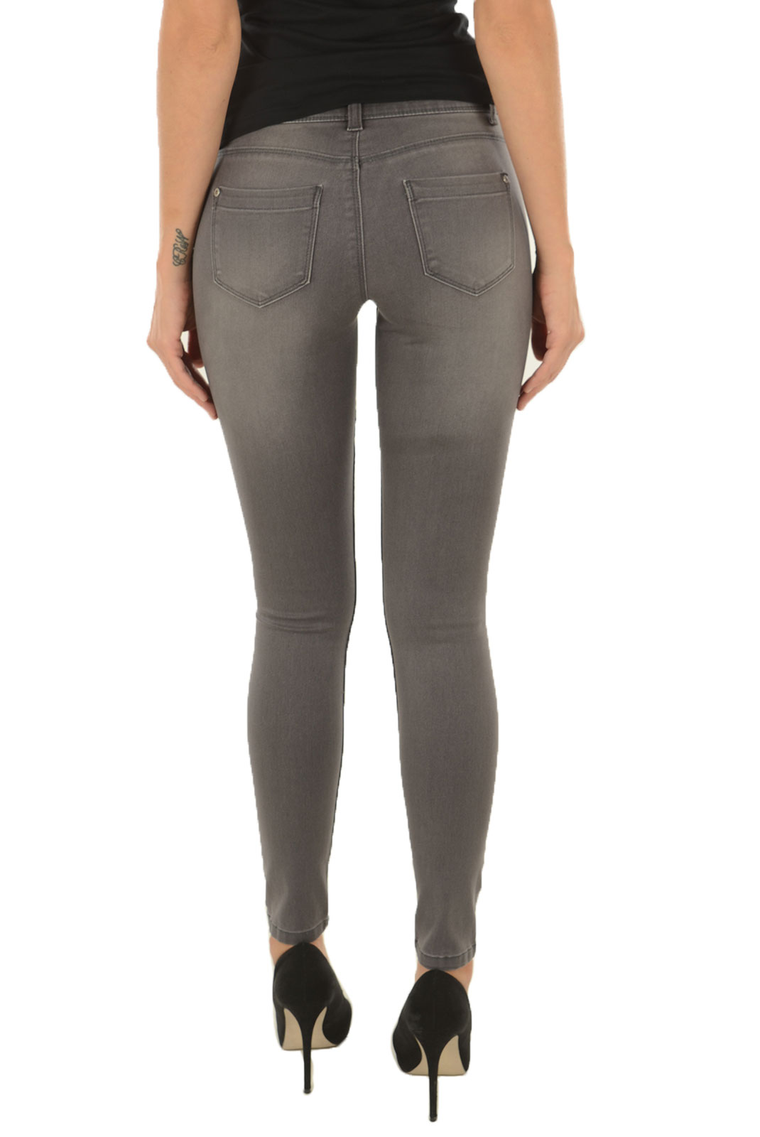 Jeans slim  Only ULTIMATE SOFT REG SKINNY MEDIUM GREY