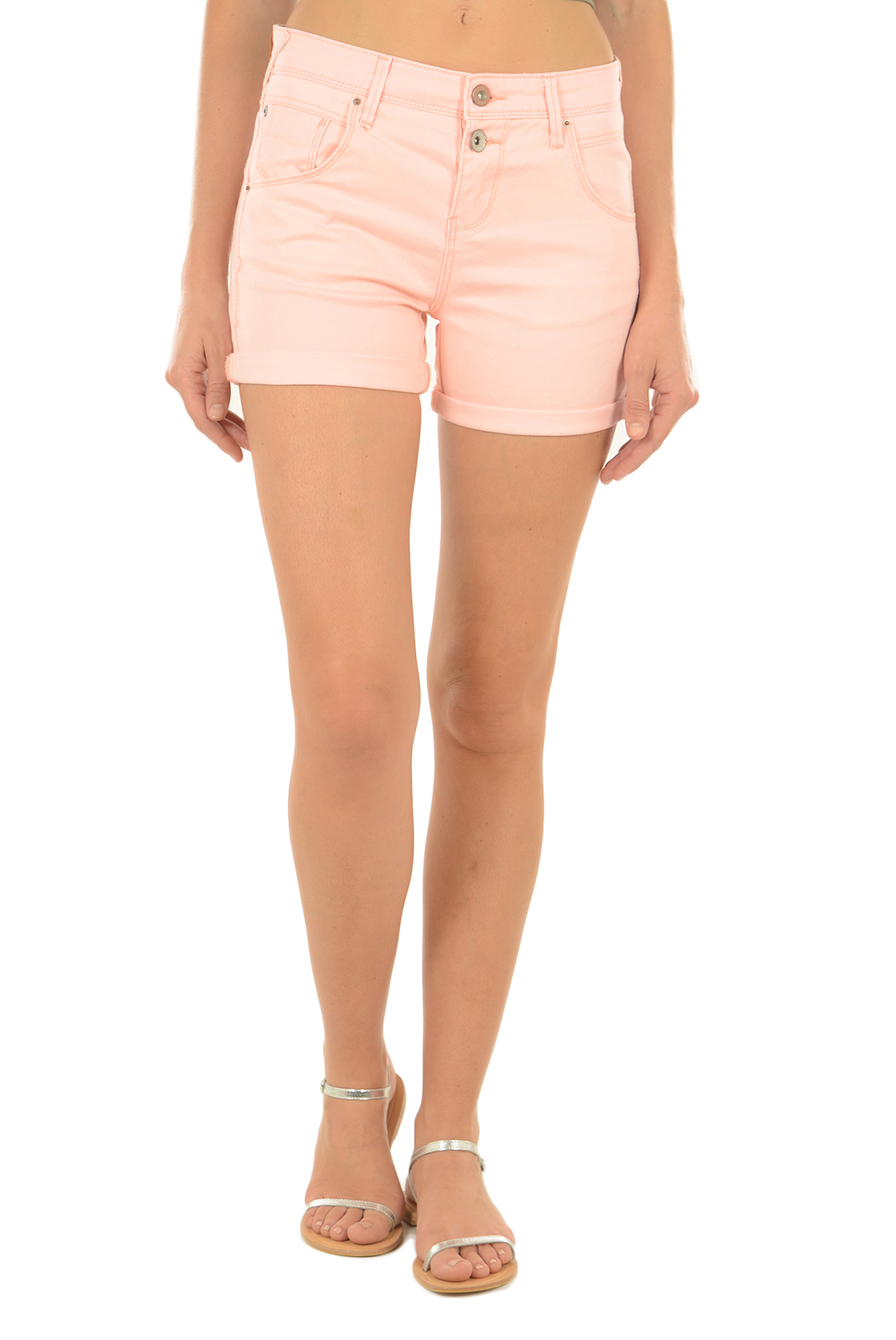 Shorts & Bermudas  Only LISE ANTIFIT PNT NOOS PALE NEON ORANGE