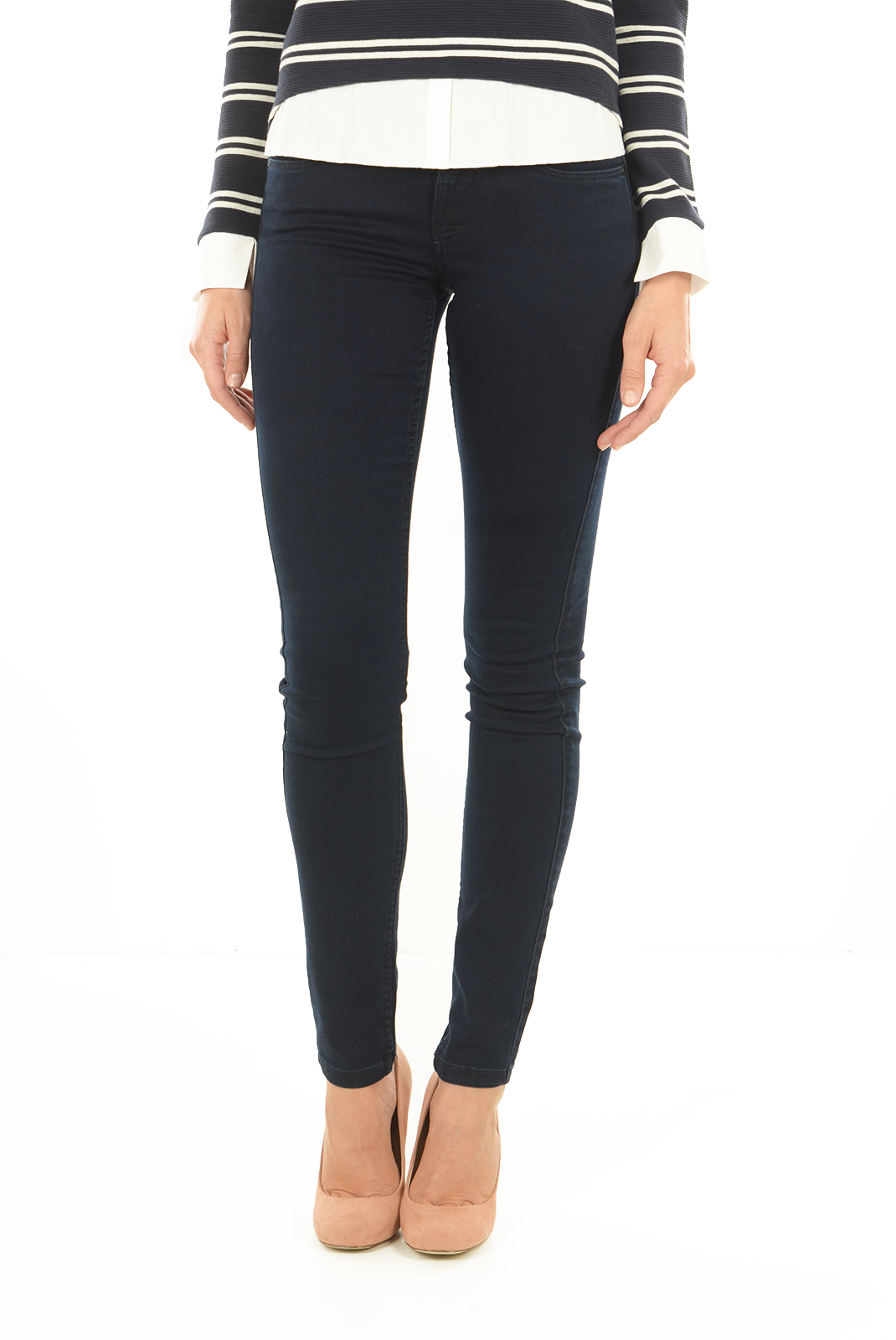 Jeans slim  Only SKINNY REG SOFT PIM205 DK BLUE DENIM
