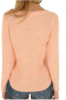 ONLY: GEENA XO L/S KNT NOOS