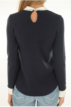 MARQUES ONLY: CARMEN L/S MIX TOP