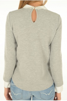 CARMEN L/S MIX TOP - MARQUES ONLY