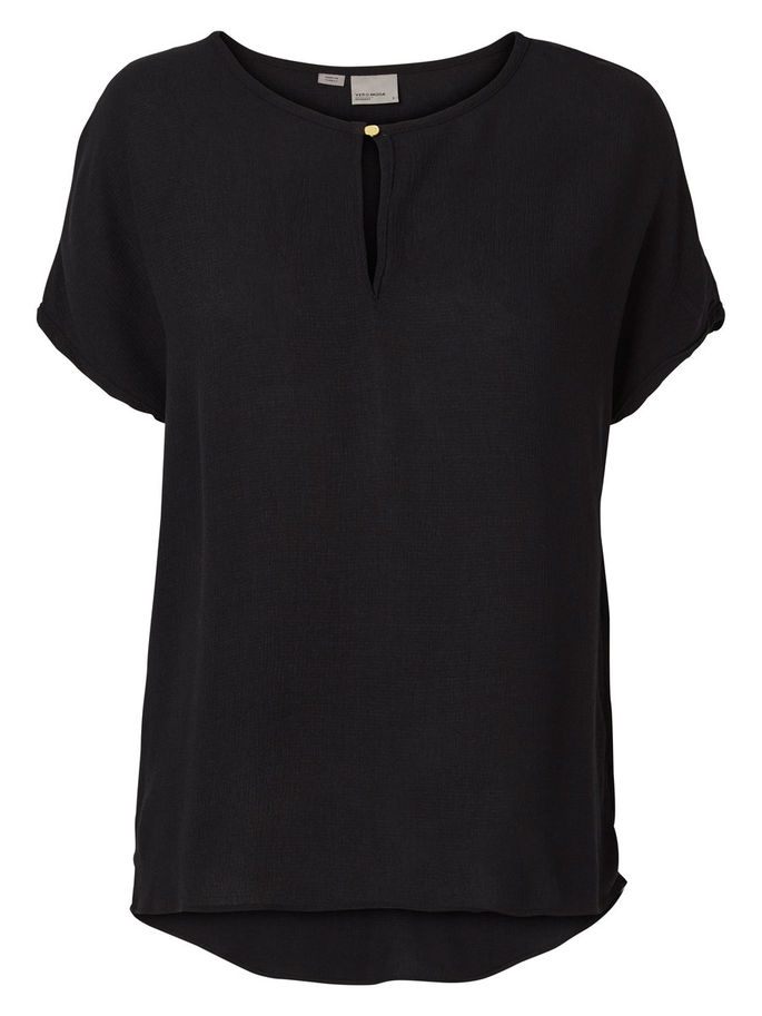 Top   Vero moda ASTA SS BLOUSE NOOS BLACK