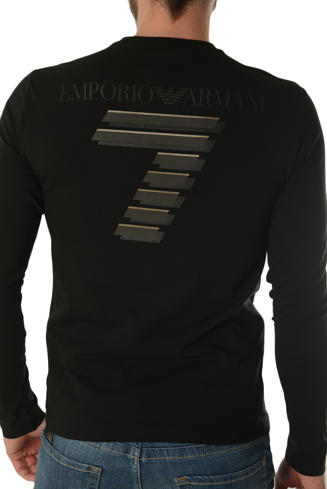 Tee-shirts manches longues  Emporio armani 6XPT83 PJ18Z 1200