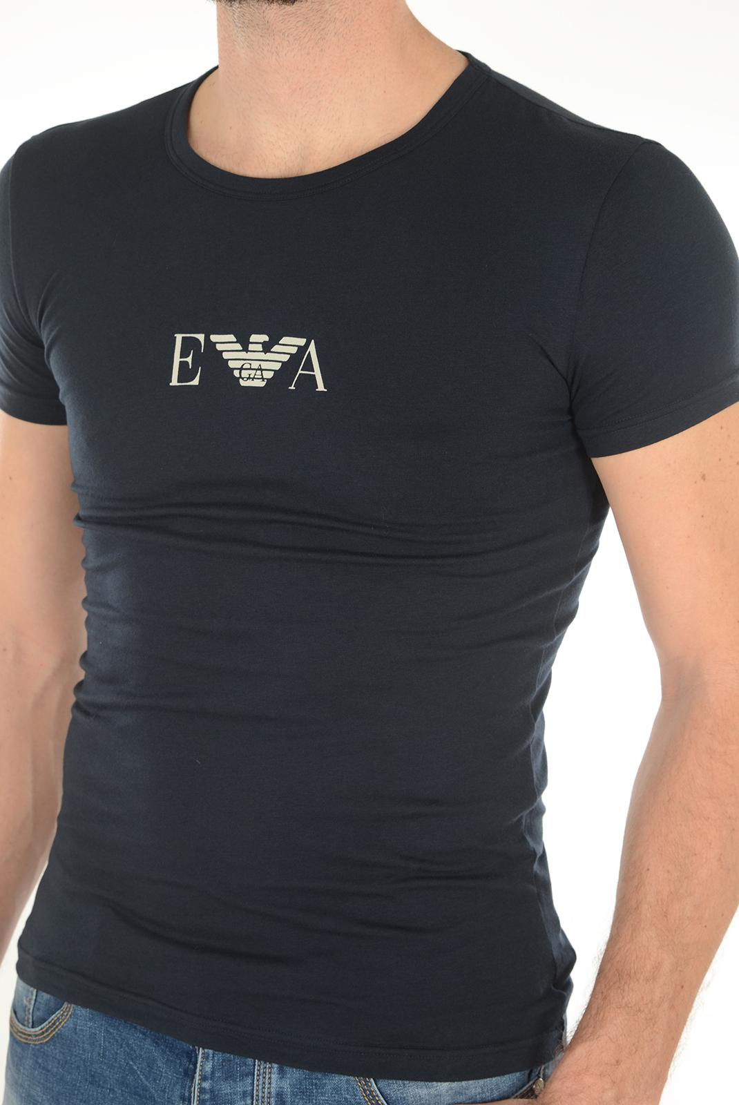 T-S manches courtes  Emporio armani 111035 6A715 0135 BLEU