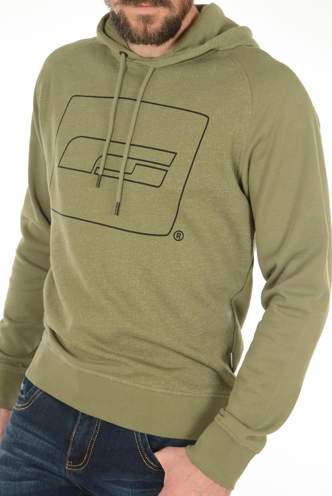Sweatshirts  Jack & Jones LUCA SWEAT HOOD DEEP LICHEN