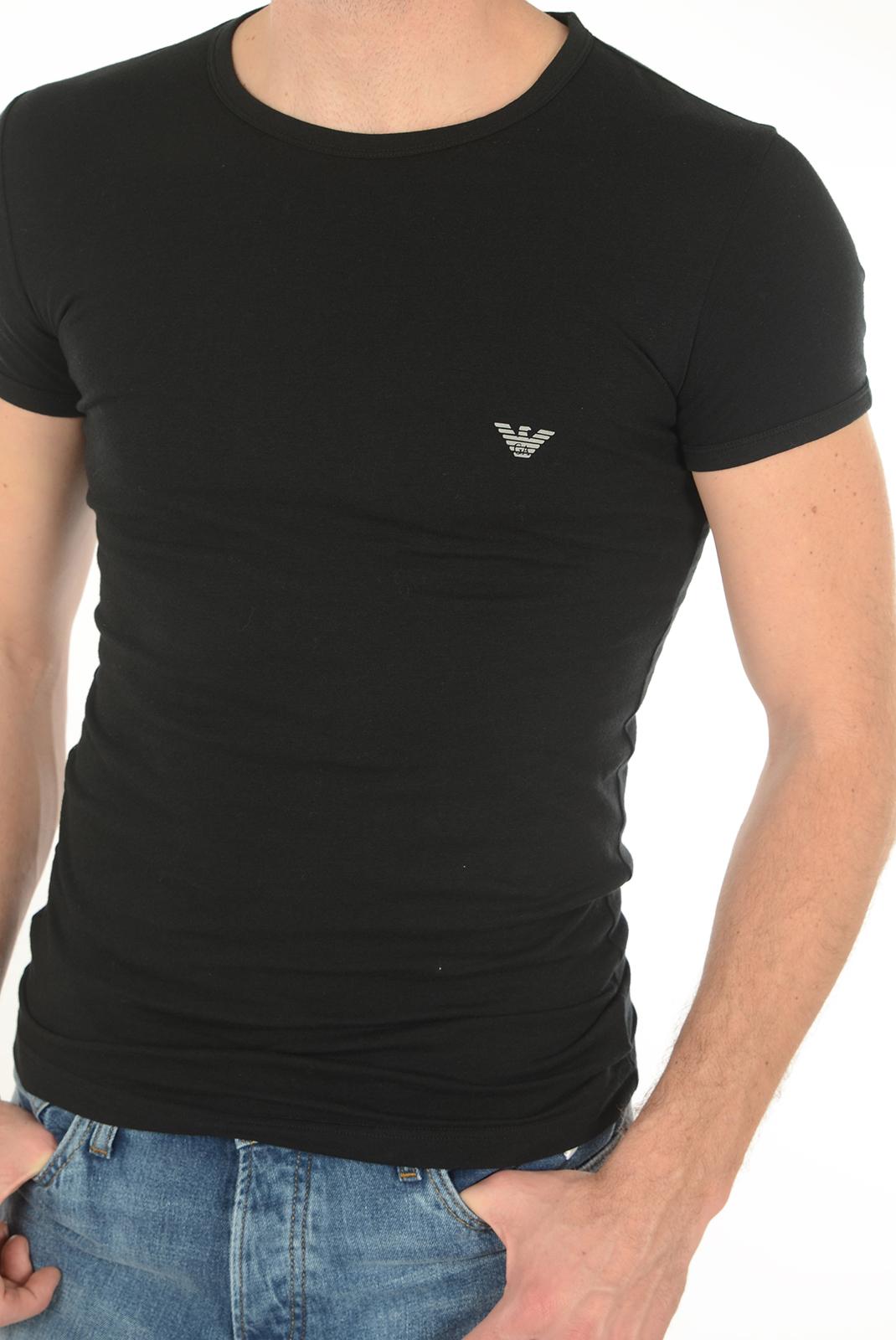 Tee-shirts manches courtes  Emporio armani 111035 6A745 020 NOIR