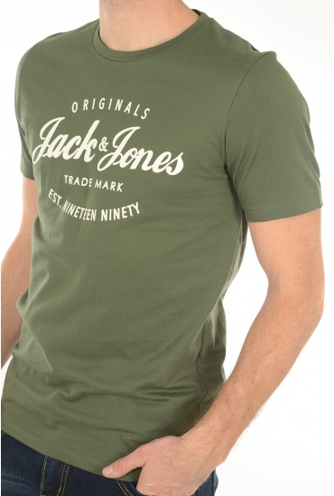 CHARLES TEE SS CREW NECK - HOMME JACK AND JONES