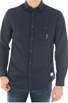 SOLID SHIRT L/S - HOMME JACK AND JONES
