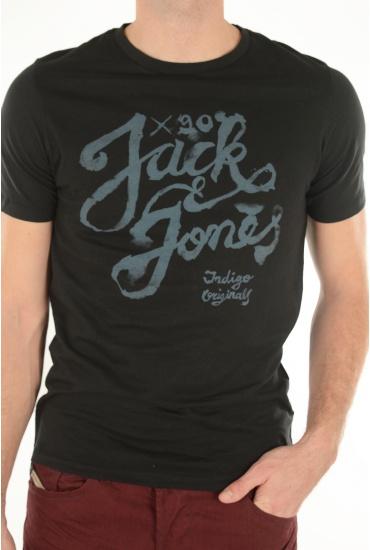 HOMME JACK AND JONES: MILLER TEE SS CREW NECK