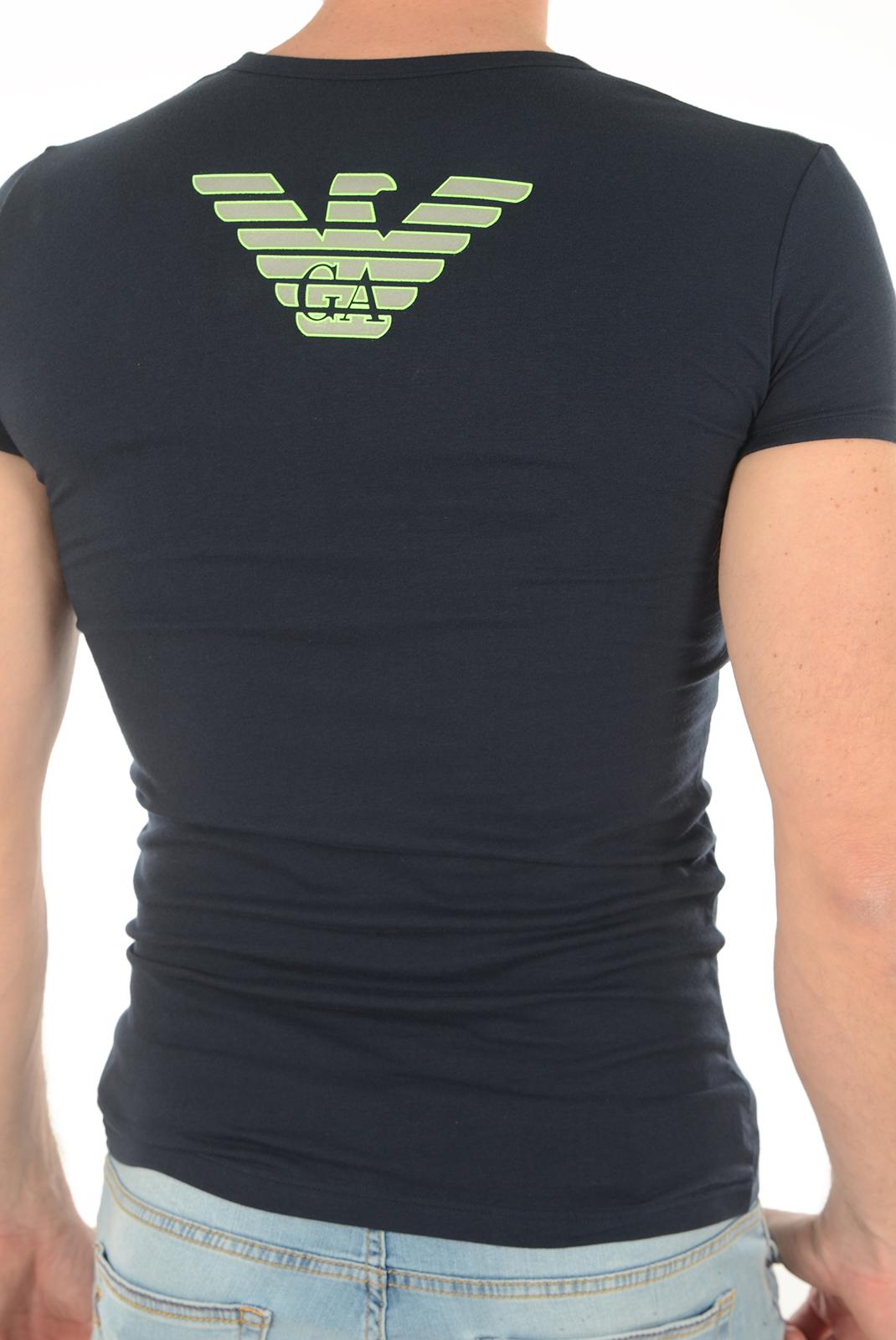 T-S manches courtes  Emporio armani 111035 6A725 0135 BLEU