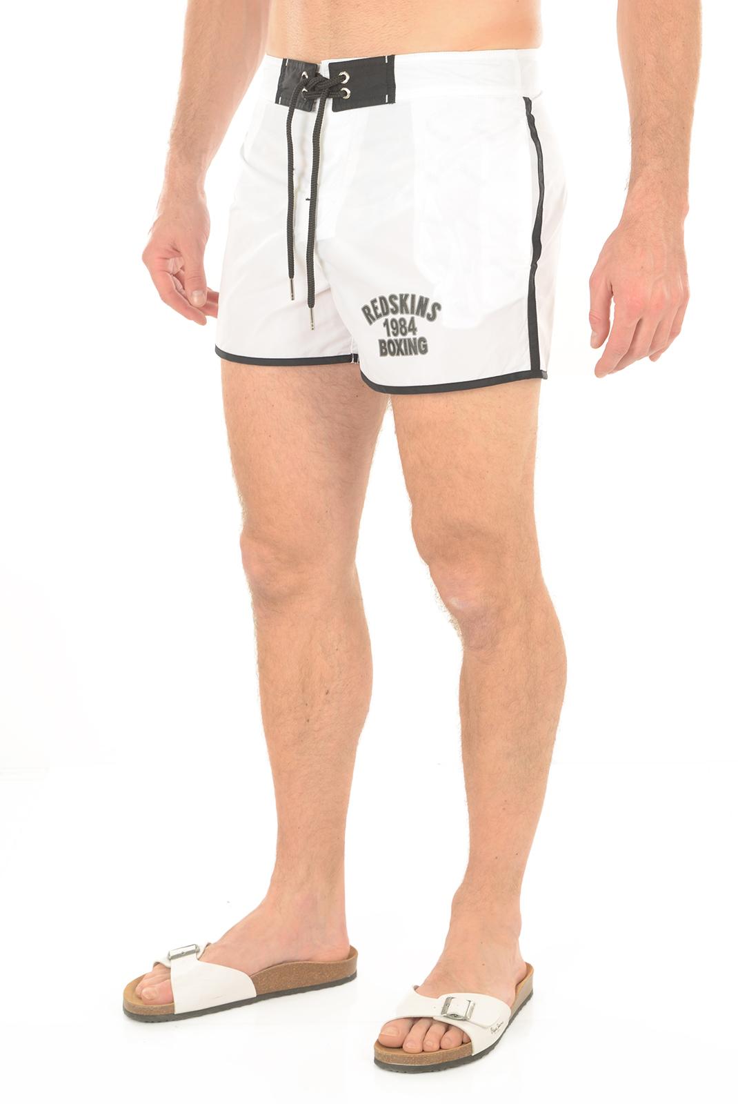 Shorts de bain  Redskins RED16 OPTICAL WHITE