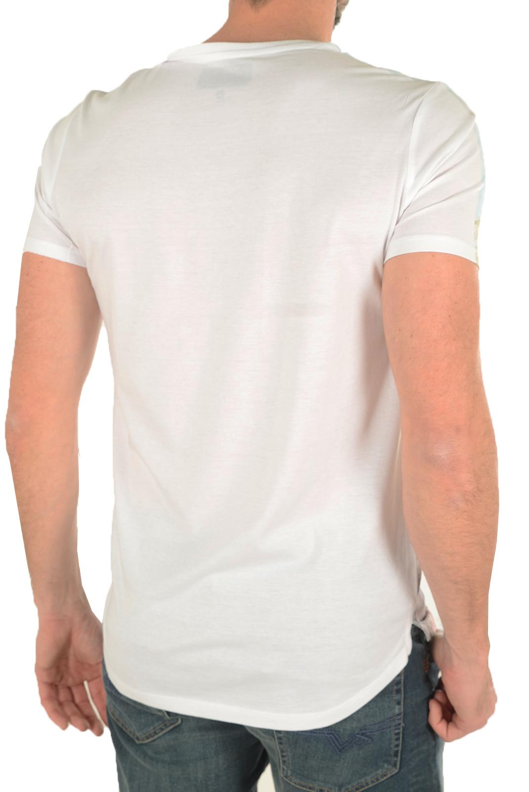 Tee-shirts  Guess jeans M72I63 K5K40 A009 OPTIC WHITE