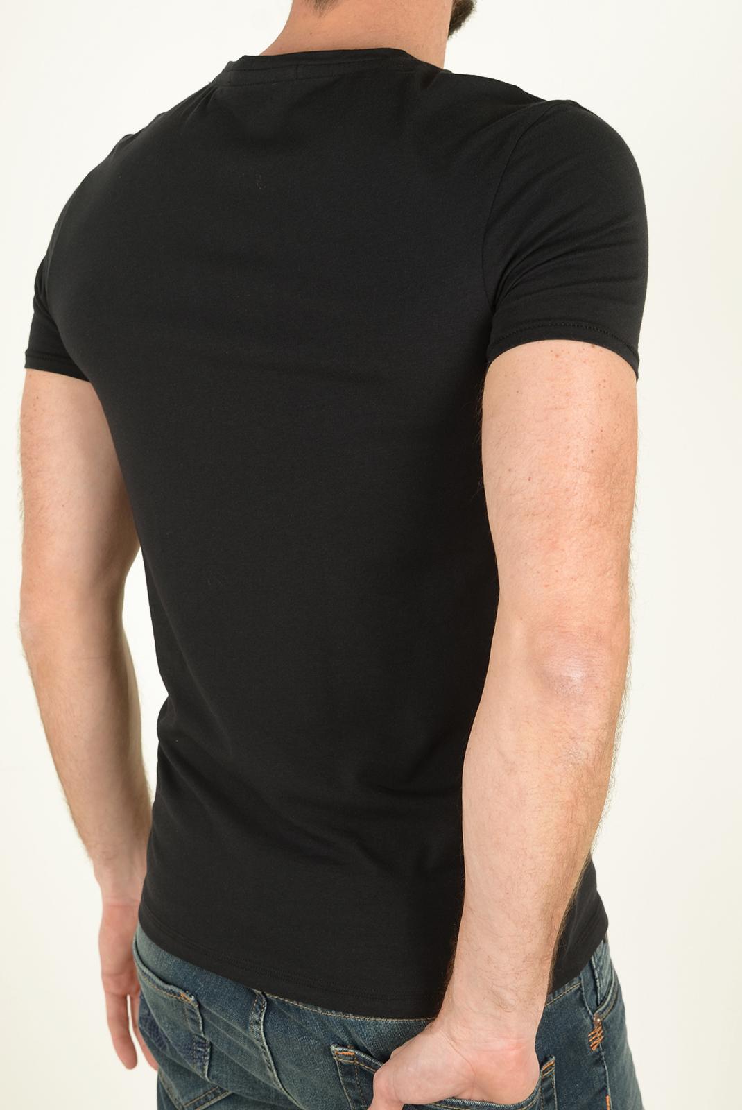 Tee-shirts manches courtes  Guess jeans U72M01JR003 A996 NOIR