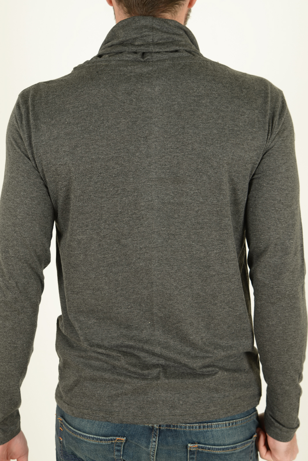 Tee-shirts manches longues  Biaggio jeans LAVENIL ANTHRA