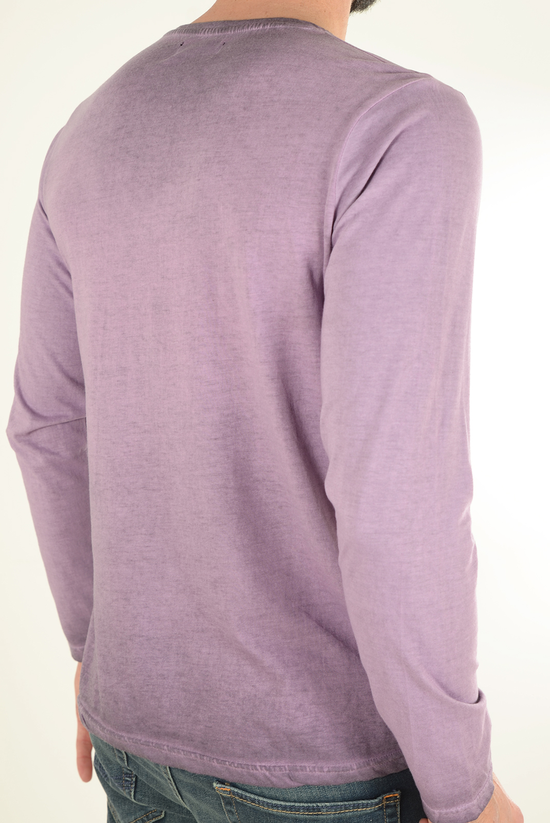 Tee-shirts manches longues  Biaggio jeans LUDOVIL BORDEAUX