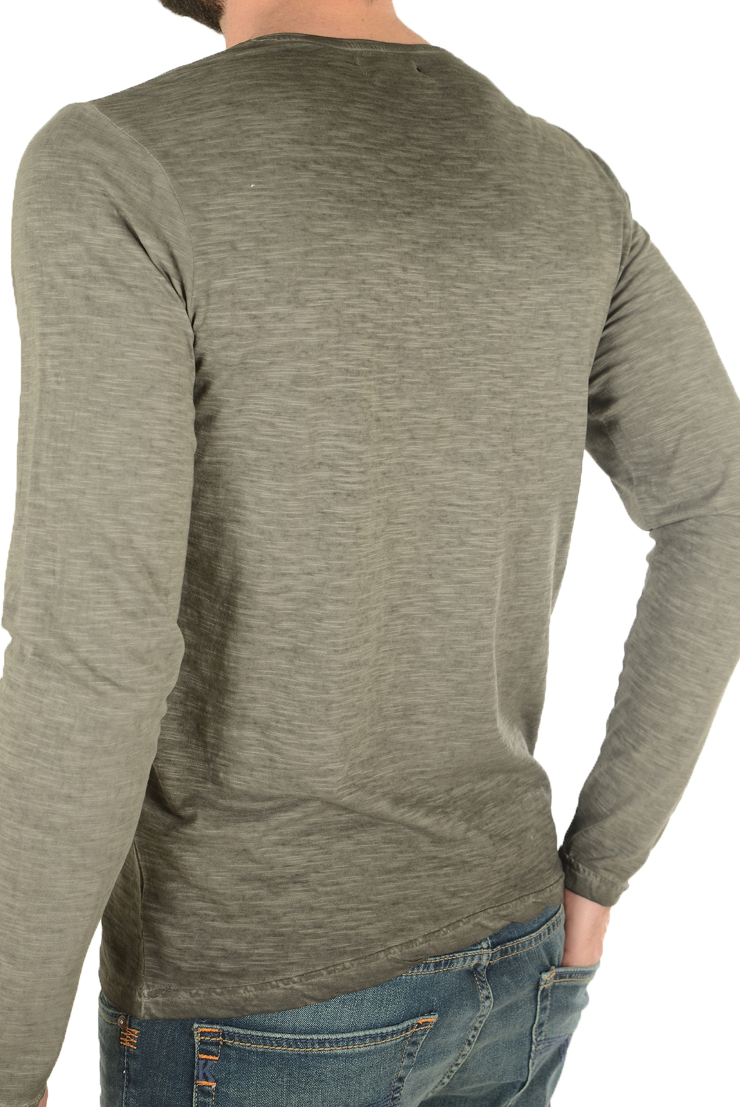 T-S manches longues  Biaggio jeans LEPALIL DK GREY