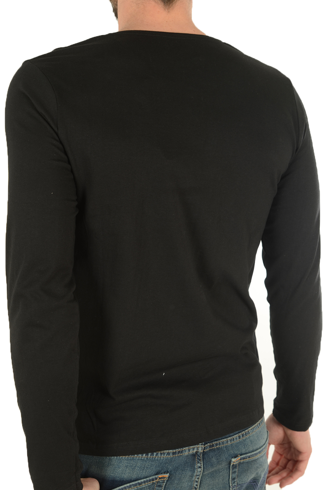T-S manches longues  Biaggio jeans LAkANIL BLACK
