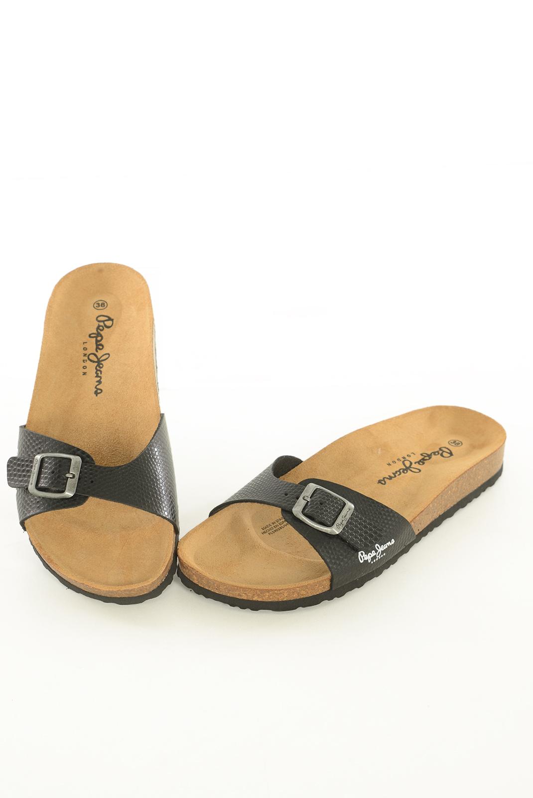 Tongs / Mules  Pepe jeans PLS90285 OBAN SKIPER 999 BLACK
