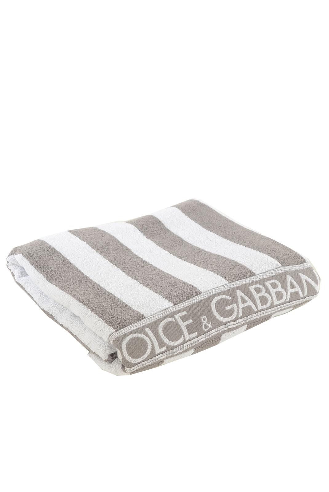 serviettes de bain homme dolce gabbana drap de bain d g np7283 blanc gris. Black Bedroom Furniture Sets. Home Design Ideas